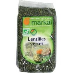 Lentilles vertes 500 g