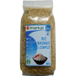 Riz basmati 1/2 complet 500 g