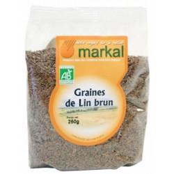 Graines lin brun