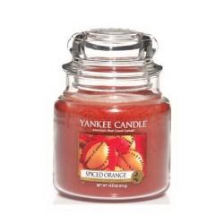 Bougie Orange épicée jarre mm