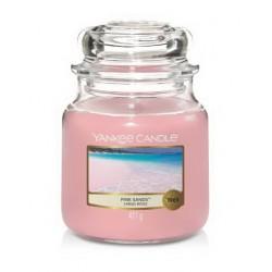 Bougie jarre sables roses...
