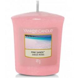 Bougie votive sables roses...