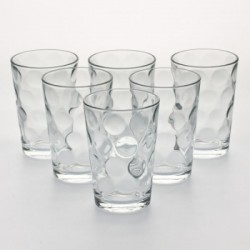 6 gobelets verre  space