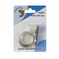 Collier serrage 24-28 mm x2