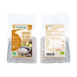 Graines de chia blanc bio 250g