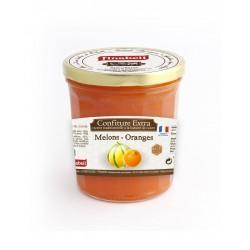 Confiture melon/orange 375G