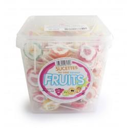 Sucette fruits 12G